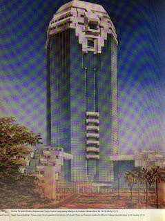 Gambar Perspektif Gedung Sapta Pesona 1991 Jakarta