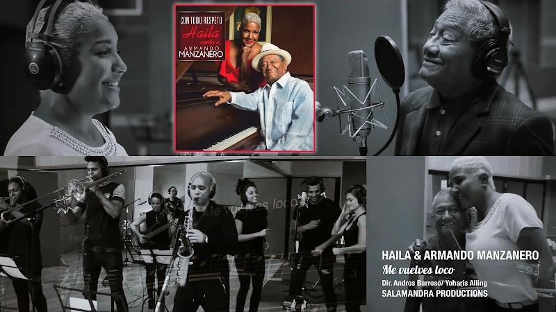 Haila & Armando Manzanero - ¨Me vuelves loco¨ - Videoclip - Dirección: Andros Barroso - Yoharis Alling. Portal del Vídeo Clip Cubano