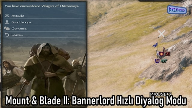 Mount & Blade II: Bannerlord  Fast Dialog Mod