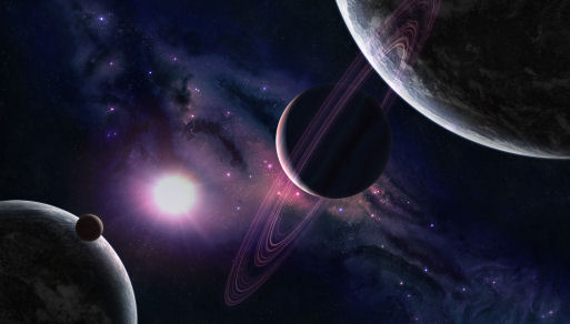 New earth like planet discovered - Solar system hd wallpapers 1080p ...