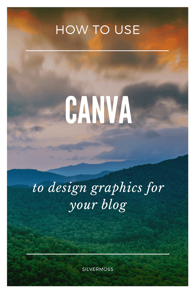 designing for your blog with canva by silvermoss
