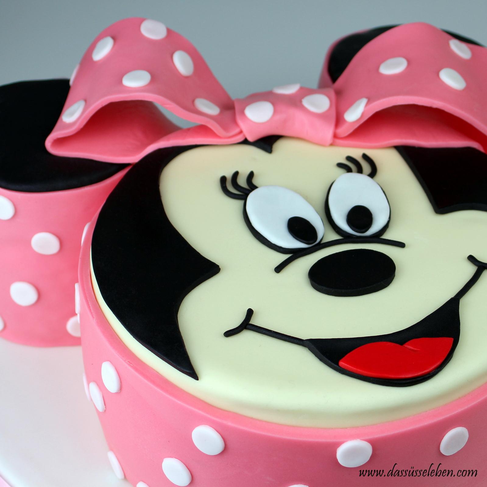 Minnie Maus Kuchen Rezept  Leckere Eiswaffel Cake Pops  Rezept