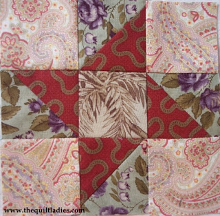 star tutorial how to make a quilt block by the quilt ladies
