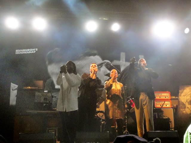 Young Fathers at Edinburgh Hogmanay Street Party 2014