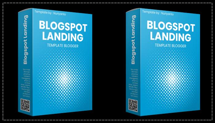 Template Landing Page Blogspot BLOGSPOT LANDING