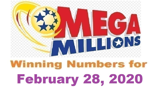 Mega Millions Winning Numbers for Friday, February 28, 2020