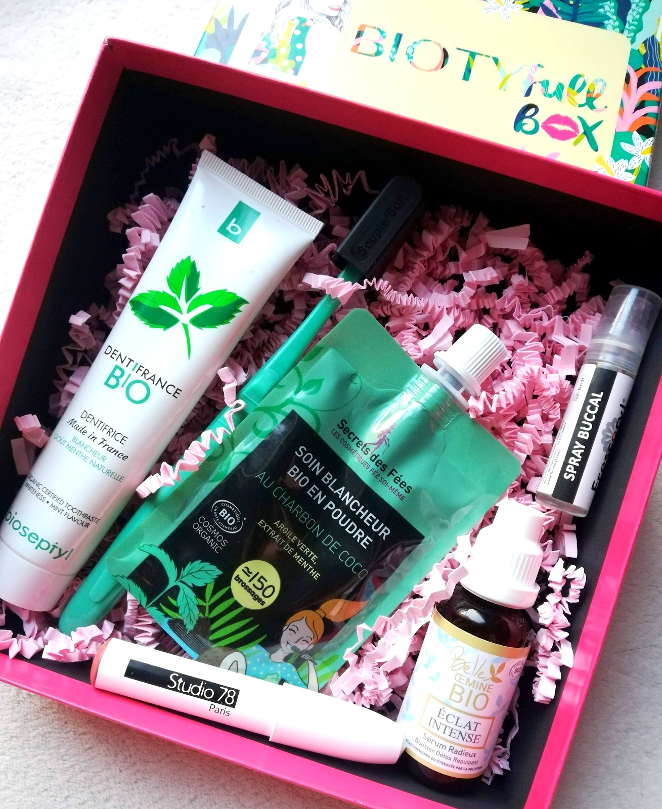 BIOYFULL BOX Septembre 2019