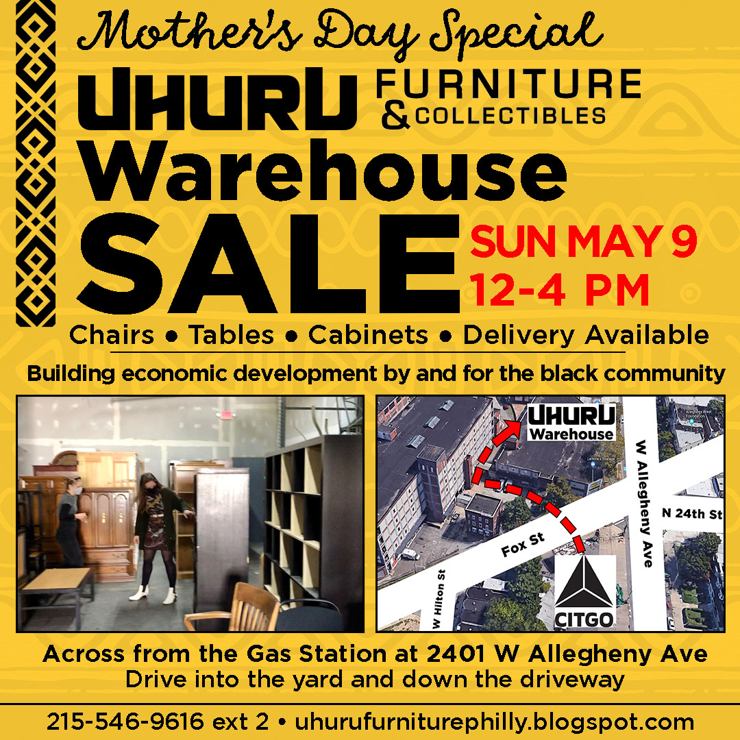 Warehouse Sale ~ Bring Mom!