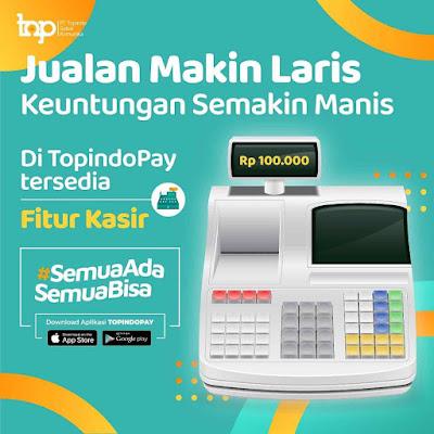 Fitur Kasir pada Aplikasi TopindoPay