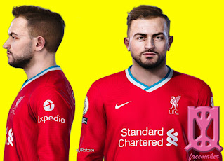 PES 2021 Faces Xherdan Shaqiri by Uqiya