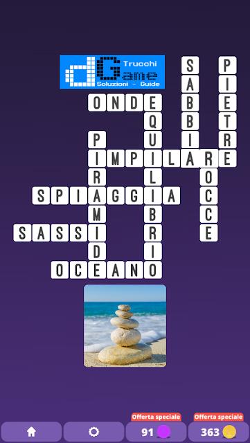Soluzioni One Clue Crossword livello 15 schemi 1 (Cruciverba illustrato)  | Parole e foto
