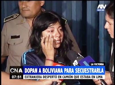 La joven que pareció en Perú afirma haber estado cuatro días inconsciente