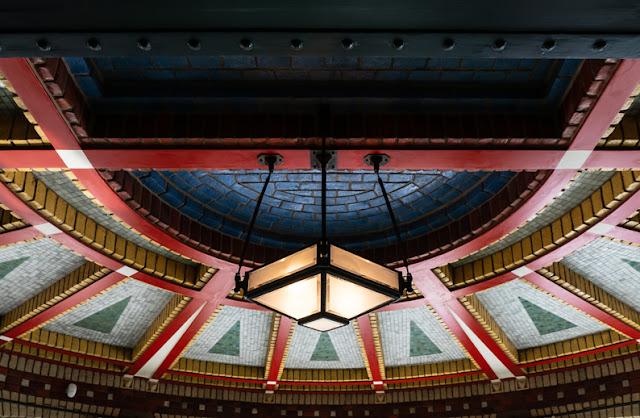 Plafond theekamer