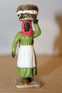 Vendedora de empanadas, por Osvaldo Verón