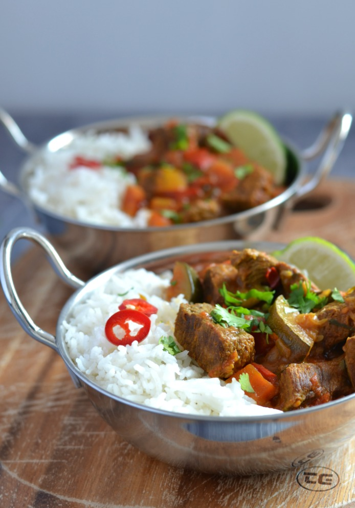 Beef and Vegetable Curry - a Pressure Cooker Recipe