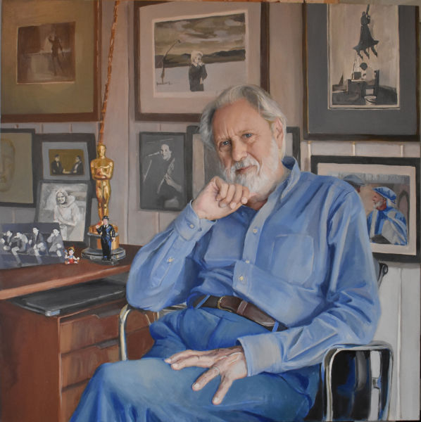 Lord David Puttnam by Hero Johnson