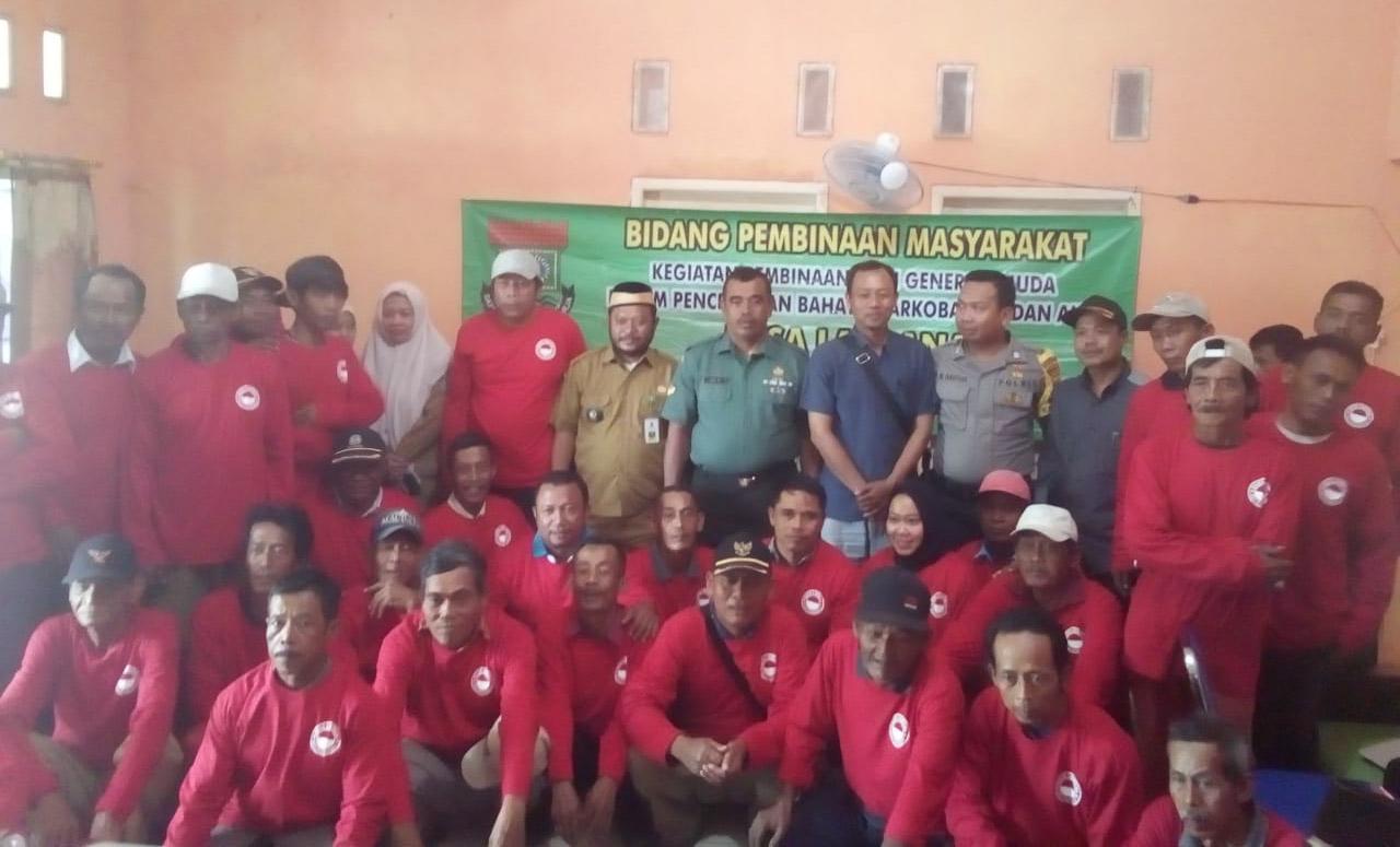 Desa Laksana Gelar Pembinaan Generasi Muda Dalam Pencegahan Bahaya Narkoba, HIV dan Aids