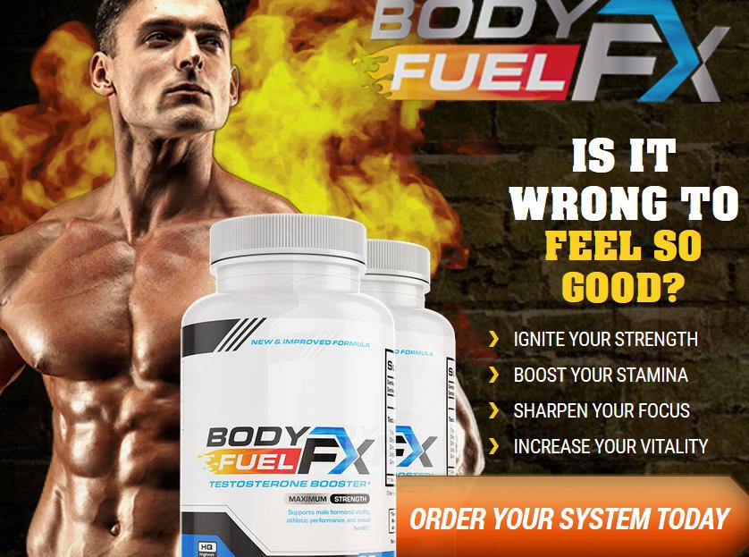 BodyFuelFX - Testosterone Booster