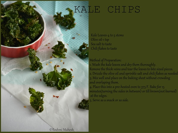 Easy Cook: Kale chips
