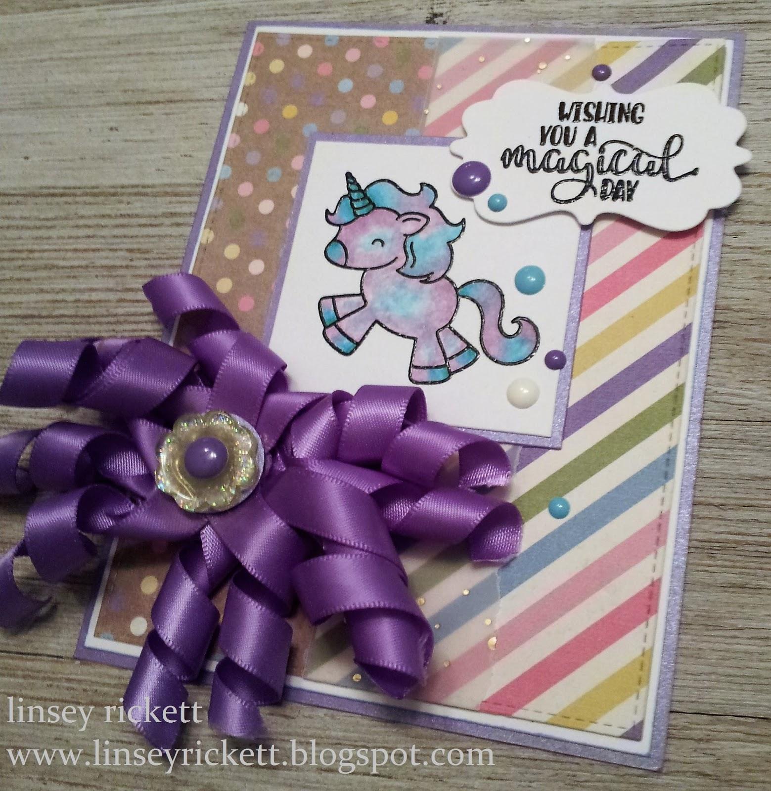 Really Reasonable Ribbon Blog: Unicorn Wishes and Curly