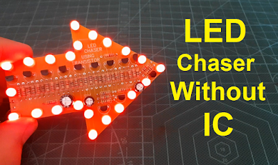 LED Chaser Without IC By Using Transistors Only