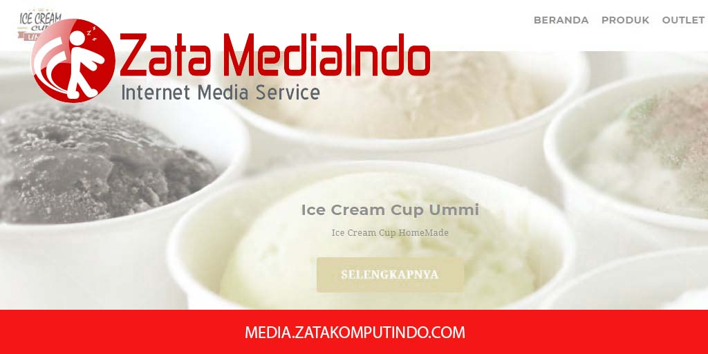 Media Partner Ice Cream Cup Ummi