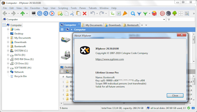 Screenshot XYplorer Pro 20.50.0100 Full Version