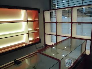 Etalase Display Action Figure + Furniture Semarang
