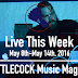 Live This Week: May 8th-14th, 2016