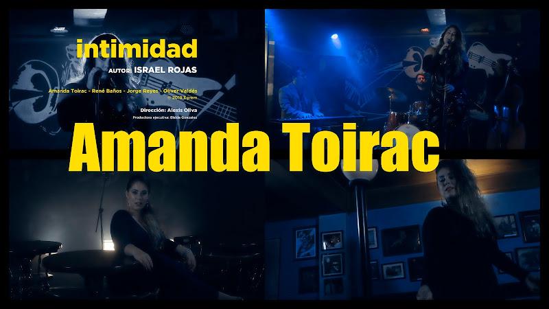 Amanda Toirac - ¨Intimidad¨ - Videoclip - Director: Alexis Oliva. portal Del Vídeo Clip Cubano. Música cubana. Boleros y Canciones Románticas. Cuba.