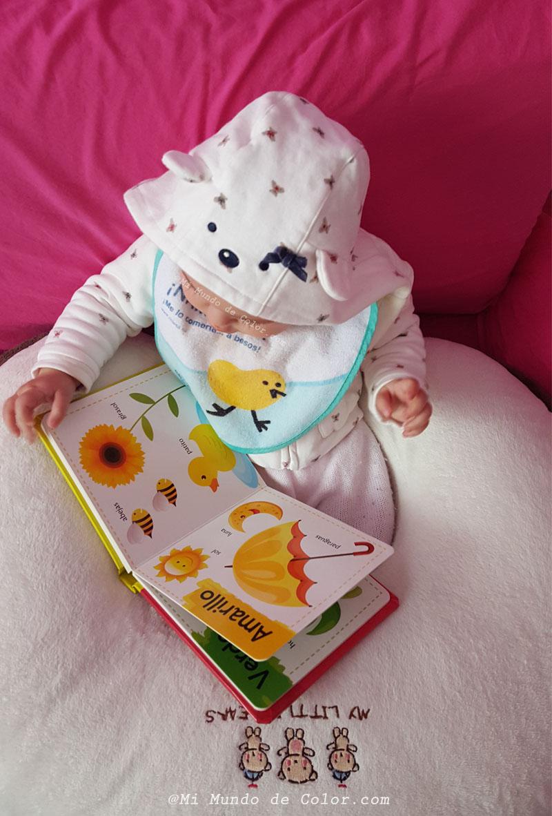 mi bebe lee, libritos para bebes