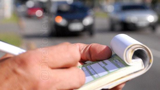 multas transito notificadas prazo passiveis anulacao