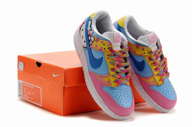 c7e00195564b1b top quality nike dunk pink hello kitty 65f75 54749