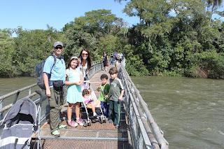 Trilha para a garganta do diabo, Parque Cataratas del Iguazú
