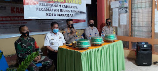 Tatap Muka, Kapolres Pelabuhan Makassar Ajak Tomas Bersinergi Menjaga Kamtibmas