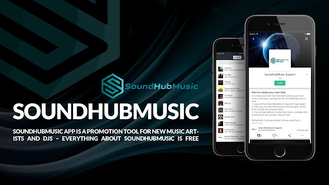 soundhubmusic new website 2017