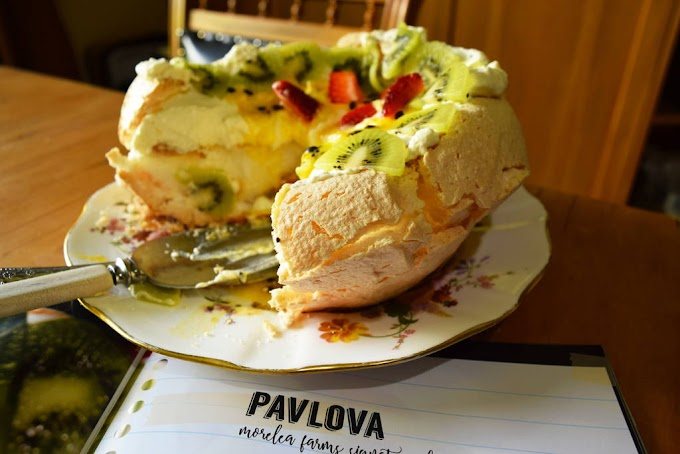Kiwi Pavlova Recipe - NewZealand