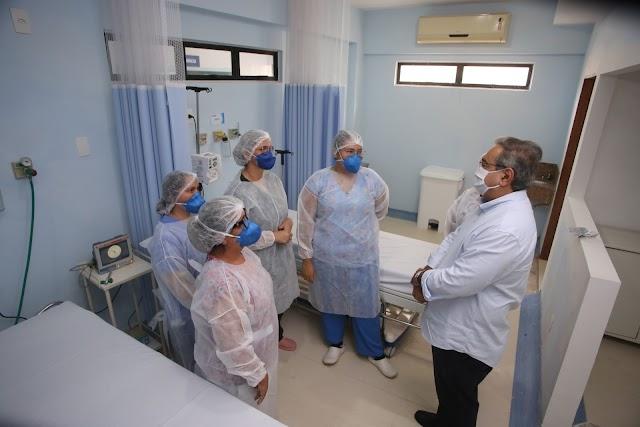 Prefeitura de Natal abre Hospital de Campanha da Zona Sul