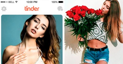 Modelo australiana asegura tener el récord de Tinder Matches