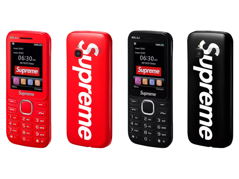 Supreme released its own basic phone with 3G connectivity