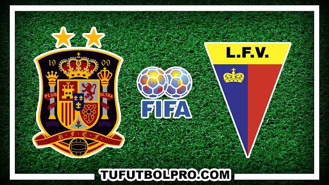 Ver España vs Liechtenstein EN VIVO Por Internet Hoy 5 Septiembre 2016
