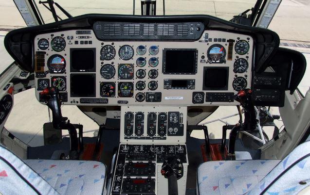 PZL-Swidnik W-3A Sokol cockpit