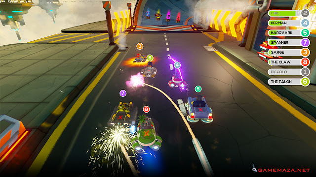 ObliteRacers Gameplay Screenshot 1
