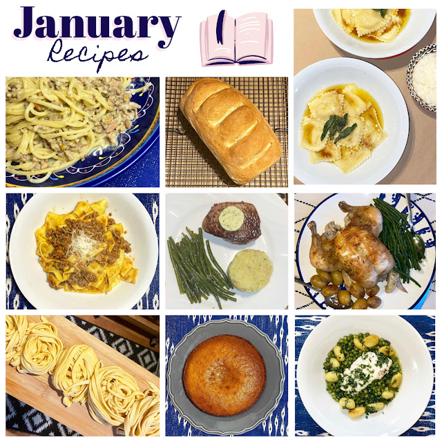 Recent Recipes No. 1 - What I Cooked in January