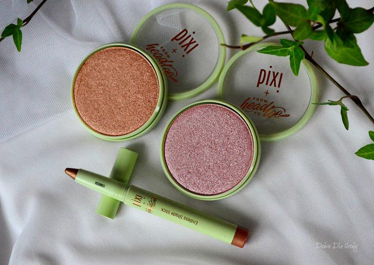 Pixi Pretties - Glow-y Powder - Puder rozświetlający i Endless Shade Stick - Rozświetlający cień w kredce
