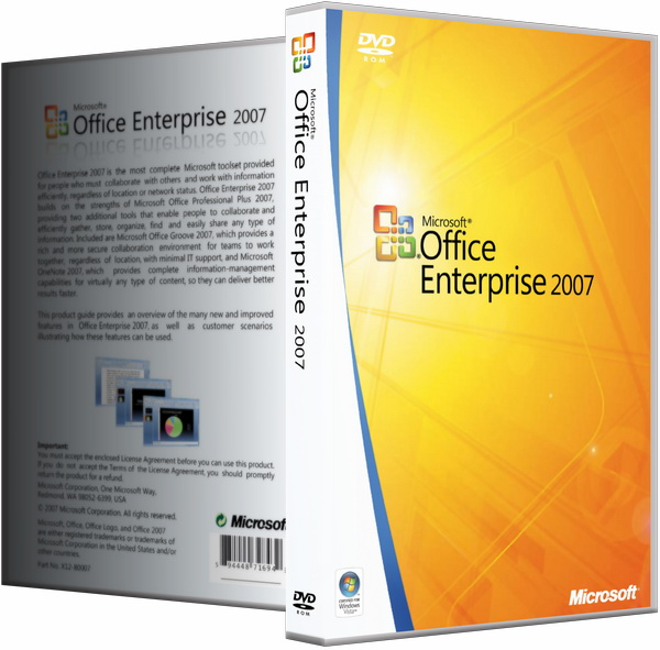 Microsoft Office 2007 SP3 Enterprise + Visio Pro + Project Pro