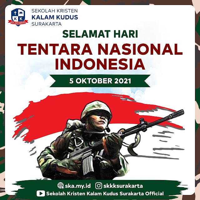 Hari Tentara Nasional Indonesia, 5 Oktober 2021