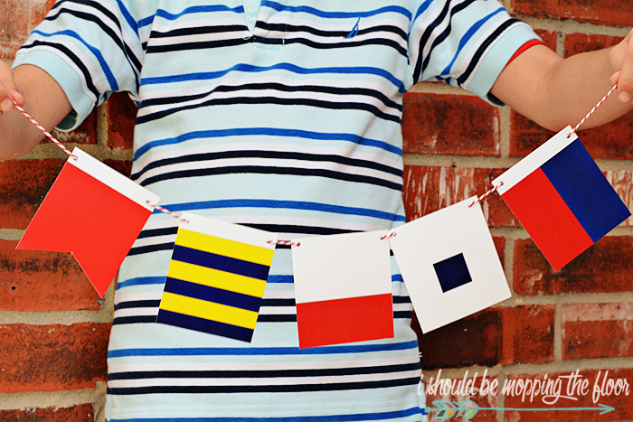 Free Printable Maritime Flags | i should be mopping the floor