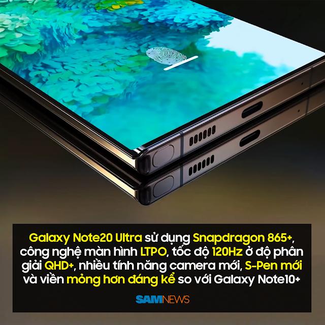 SamSung Galaxy Note20 Ultra Sử Dụng Snapdragon 865+