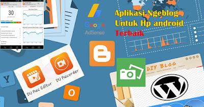 Aplikasi android Ngeblog Lewat HP-aplikasi blogger